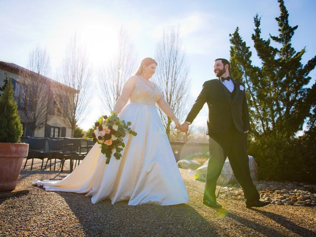 Chris and Christie's Wedding in Travelers Rest, South Carolina 7