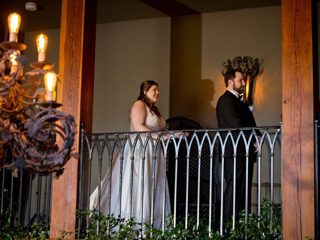 Chris and Christie's Wedding in Travelers Rest, South Carolina 10