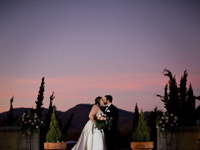 Chris and Christie's Wedding in Travelers Rest, South Carolina 1