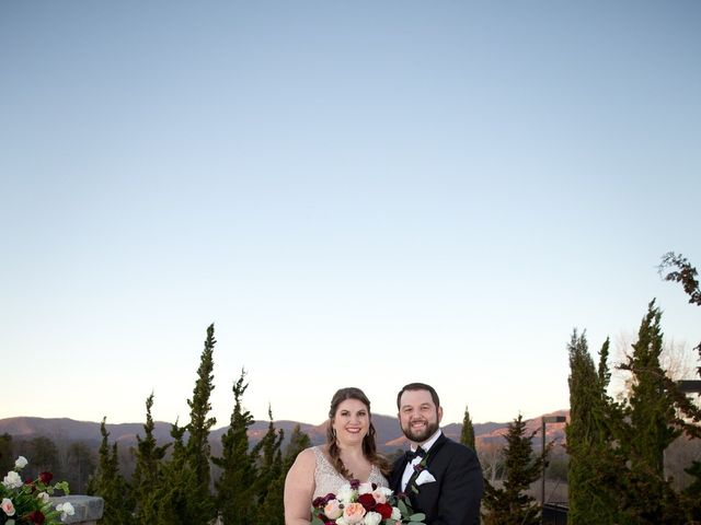 Chris and Christie's Wedding in Travelers Rest, South Carolina 38