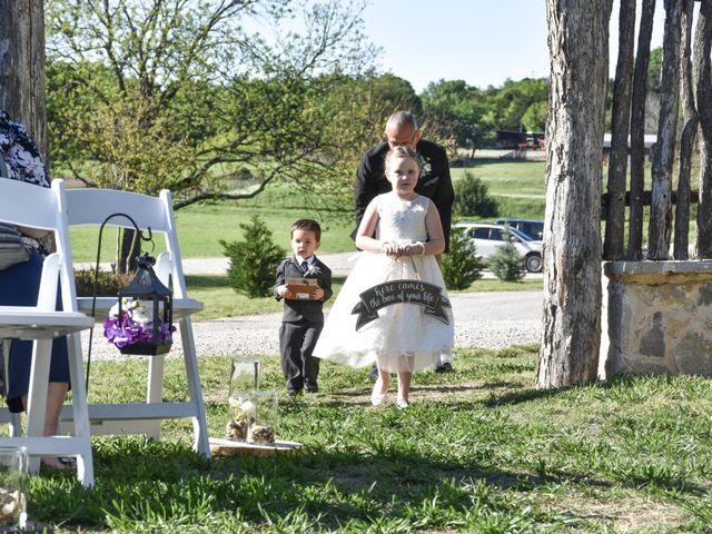 Ashley and Derek's Wedding in Weatherford, Texas 17