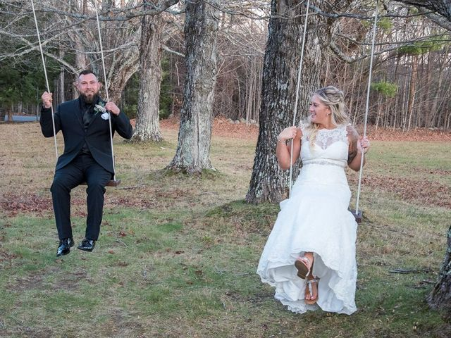 Jeff and Bri's Wedding in Oxford, Maine 9
