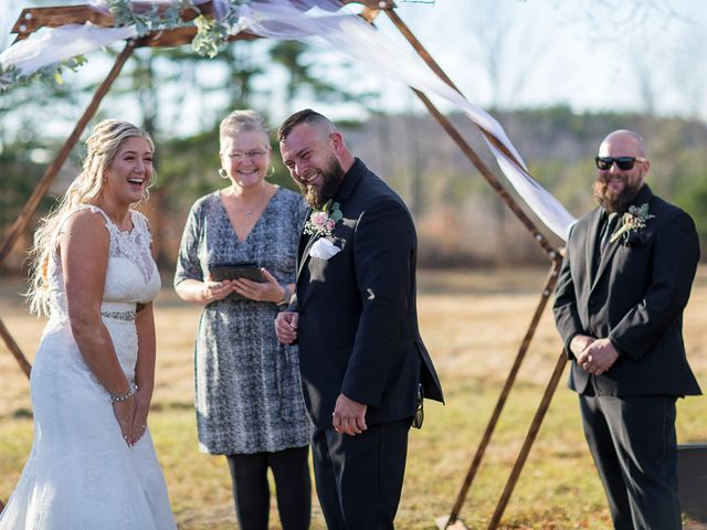 Jeff and Bri's Wedding in Oxford, Maine 15