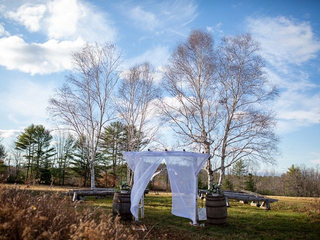 Jeff and Bri's Wedding in Oxford, Maine 18