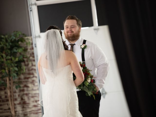 Austin and Marissa's Wedding in Ottawa, Kansas 11