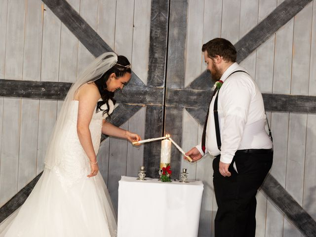 Austin and Marissa's Wedding in Ottawa, Kansas 12
