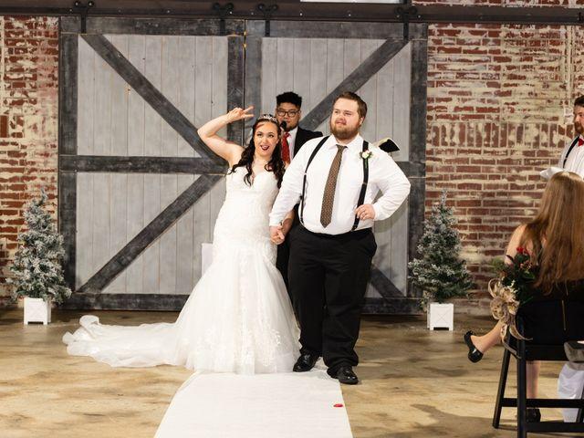 Austin and Marissa's Wedding in Ottawa, Kansas 14
