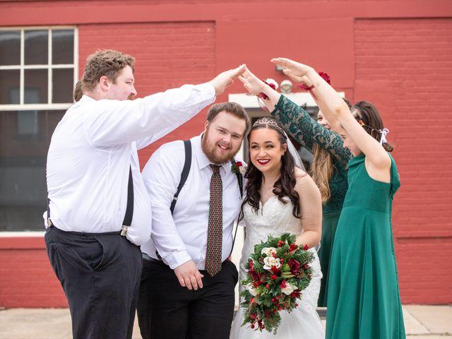 Austin and Marissa's Wedding in Ottawa, Kansas 16