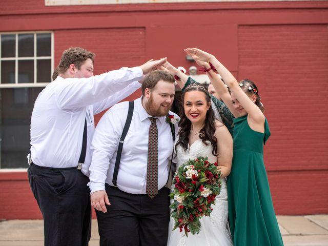 Austin and Marissa's Wedding in Ottawa, Kansas 17