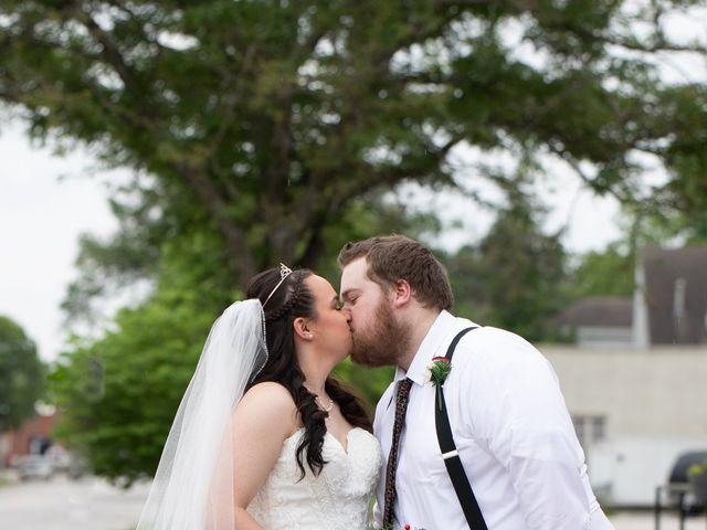 Austin and Marissa's Wedding in Ottawa, Kansas 19
