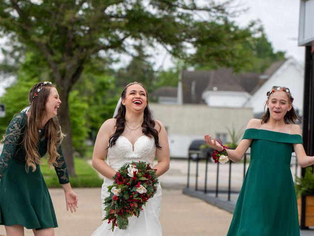 Austin and Marissa's Wedding in Ottawa, Kansas 20