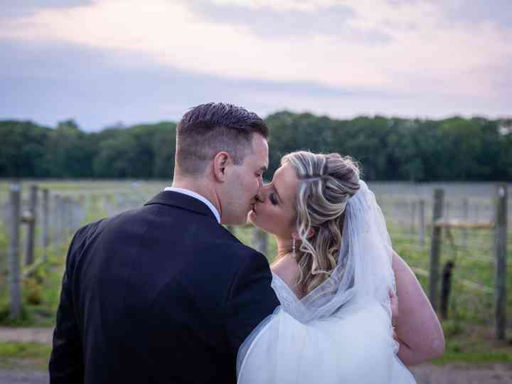 The wedding of Adare and Jeffrey