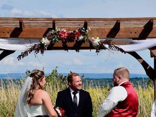 The wedding of Marissa  and Matt 2