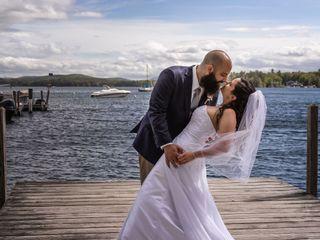 The wedding of Keri and Matt