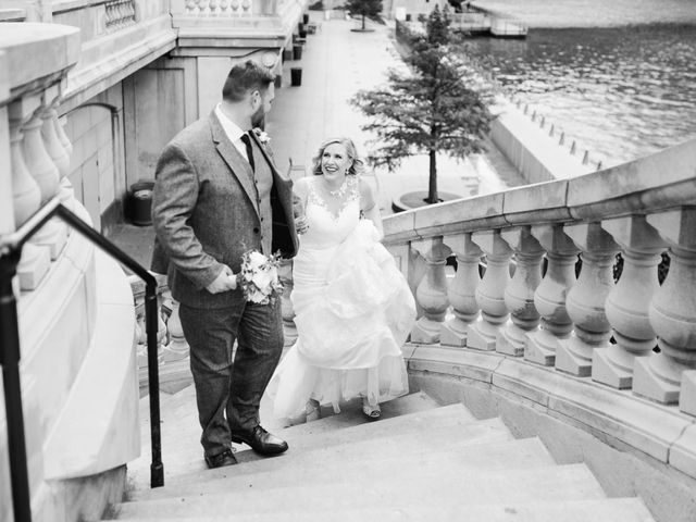 Dave and Carolyn's Wedding in Chicago, Illinois 84
