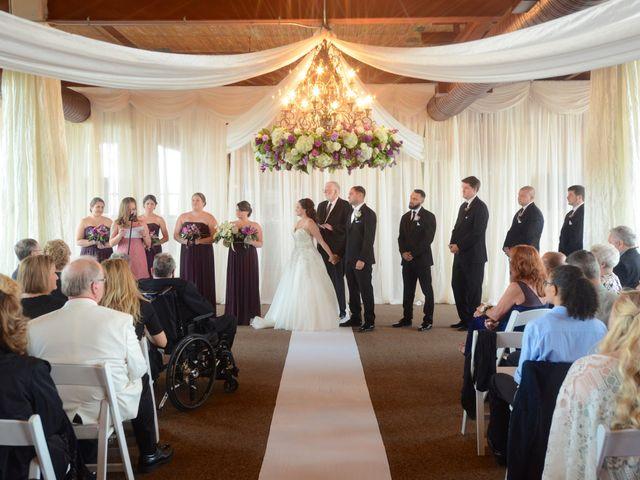 Dustin and Adrienne's Wedding in Ohio City, Ohio 3