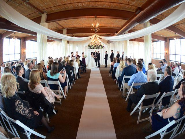Dustin and Adrienne's Wedding in Ohio City, Ohio 5