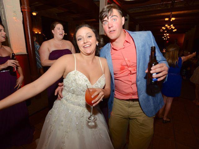 Dustin and Adrienne's Wedding in Ohio City, Ohio 12