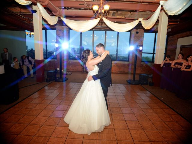 Dustin and Adrienne's Wedding in Ohio City, Ohio 19