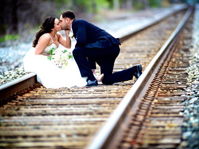 Dustin and Adrienne's Wedding in Ohio City, Ohio 23