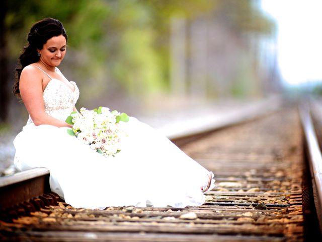 Dustin and Adrienne's Wedding in Ohio City, Ohio 24