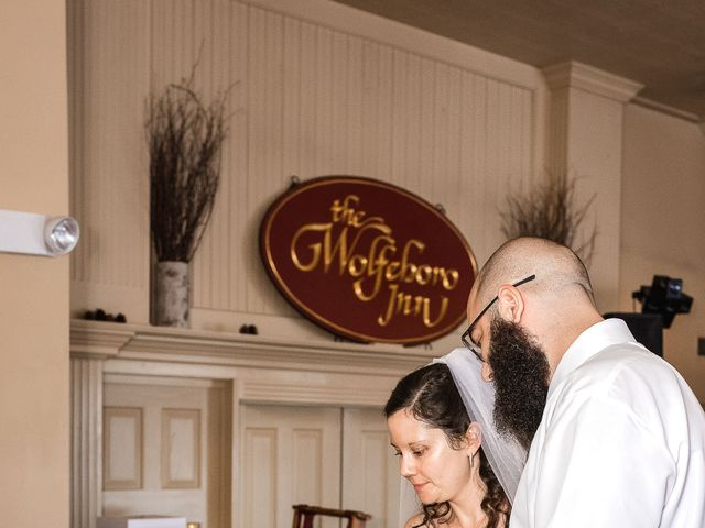 Matt and Keri's Wedding in Wolfeboro, New Hampshire 9