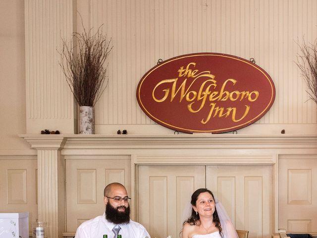 Matt and Keri's Wedding in Wolfeboro, New Hampshire 10