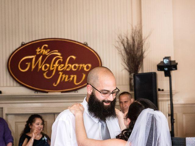Matt and Keri's Wedding in Wolfeboro, New Hampshire 12