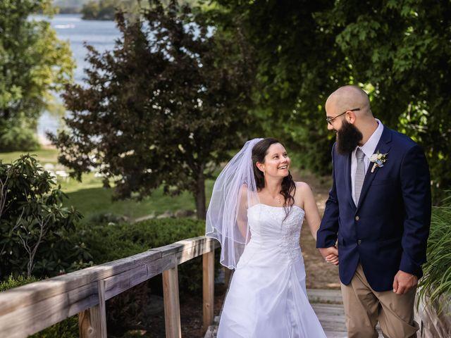 Matt and Keri's Wedding in Wolfeboro, New Hampshire 15