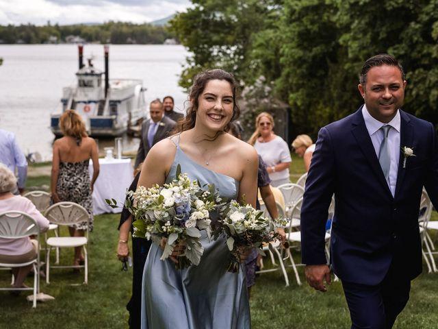 Matt and Keri's Wedding in Wolfeboro, New Hampshire 21