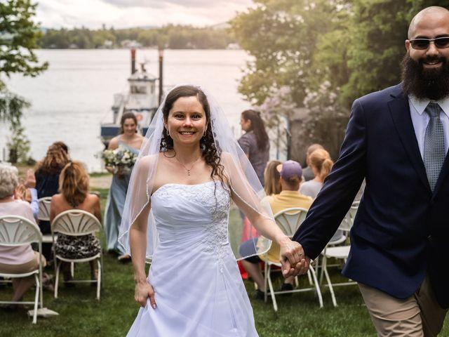 Matt and Keri's Wedding in Wolfeboro, New Hampshire 22
