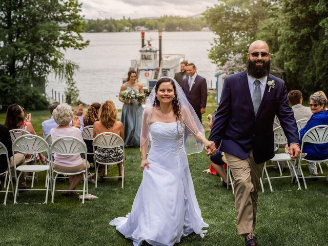 Matt and Keri's Wedding in Wolfeboro, New Hampshire 1