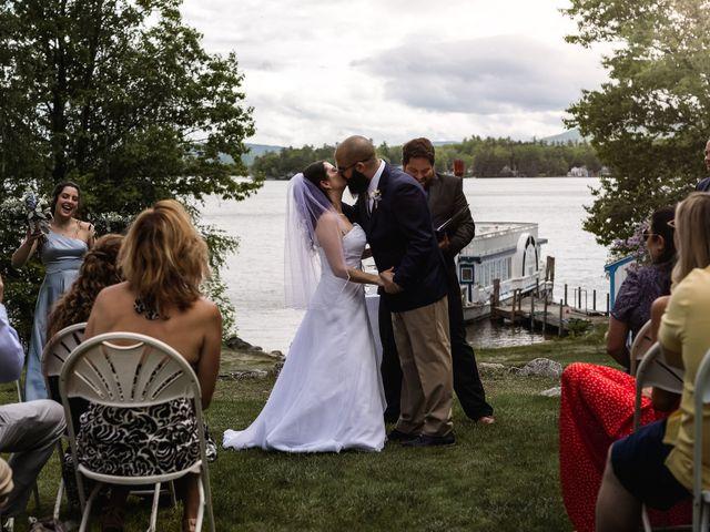 Matt and Keri's Wedding in Wolfeboro, New Hampshire 23
