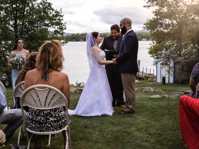 Matt and Keri's Wedding in Wolfeboro, New Hampshire 24