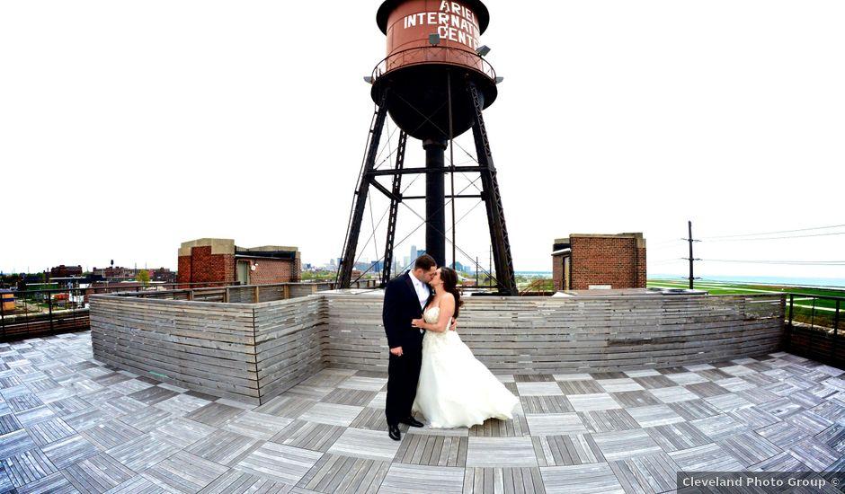 Dustin and Adrienne's Wedding in Ohio City, Ohio