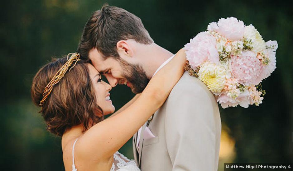 Karisa and James's wedding in California