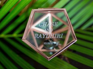 The wedding of Raydhiri and Chase 1