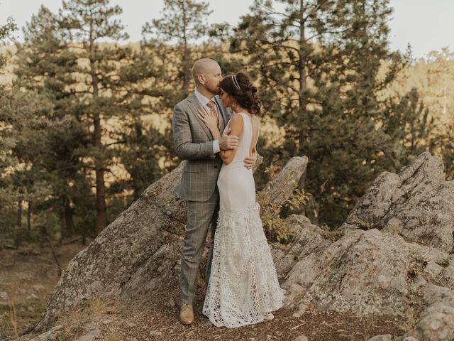 Brent and Rebecca's Wedding in Morrison, Colorado 13