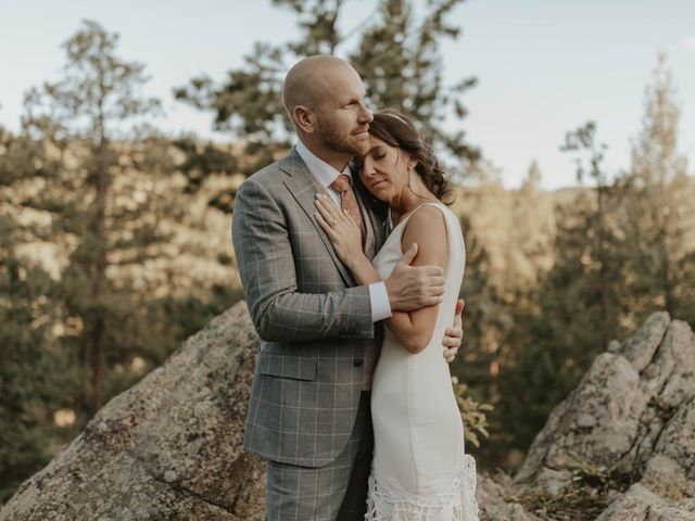 Brent and Rebecca's Wedding in Morrison, Colorado 14