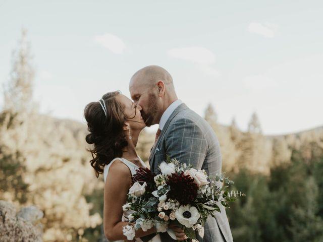 Brent and Rebecca's Wedding in Morrison, Colorado 16