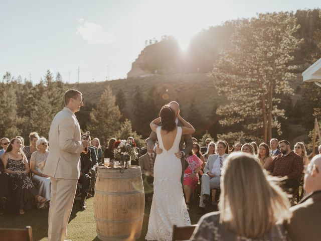 Brent and Rebecca's Wedding in Morrison, Colorado 20