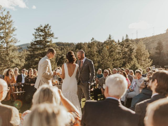 Brent and Rebecca's Wedding in Morrison, Colorado 22
