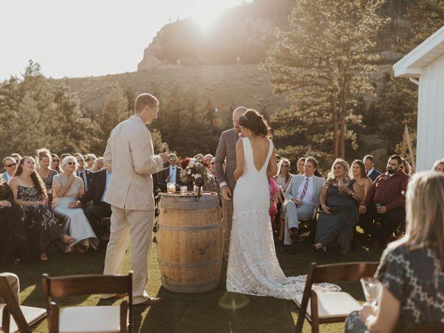 Brent and Rebecca's Wedding in Morrison, Colorado 23