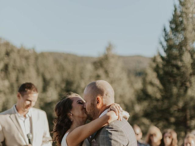 Brent and Rebecca's Wedding in Morrison, Colorado 37