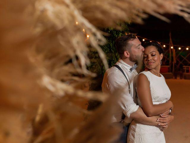 The wedding of Raydhiri and Chase