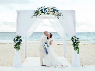 The wedding of Linda and Michael