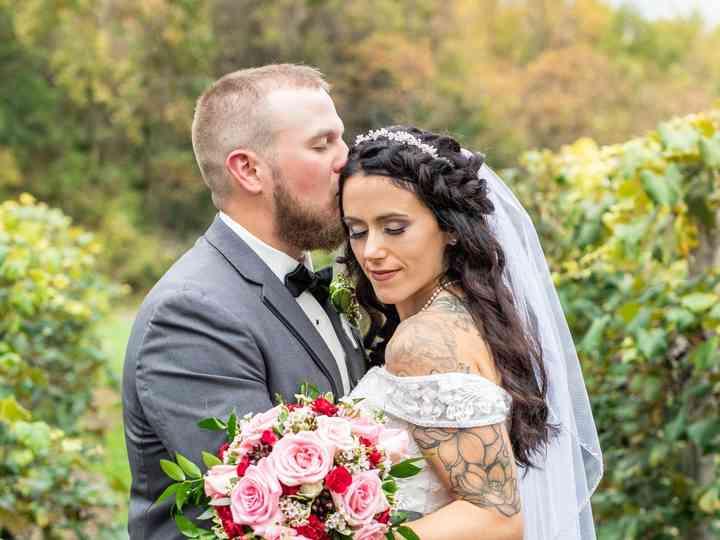 The wedding of Angelea and Steve
