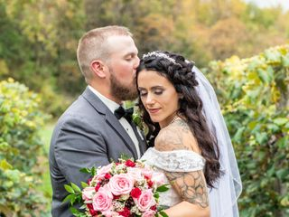 The wedding of Angelea and Steve