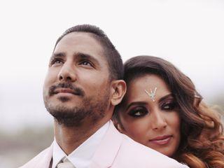 The wedding of Sapna and Pratik