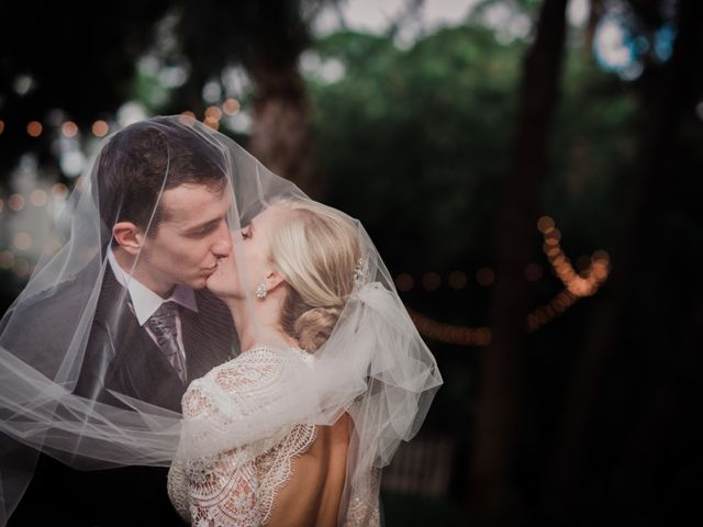 The wedding of Kaylin and Stefan